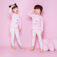 21 COLOR Spring Autumn Pure Cotton Long Johns Baby Thermals Kids Underwear Thermal  Sets Toddlers