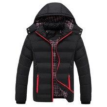 High Quality 90% cotton Thick Down Jacket men coat Snow parkas coat male Warm Br