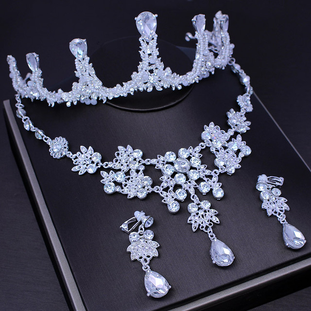 royal girl cake topper handcrafted tiara silver rhinestone