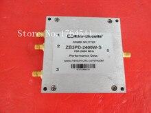 [Белла] Мини ZB3PD-2400W-S 700-2400 мГц три питания делитель мощности SMA
