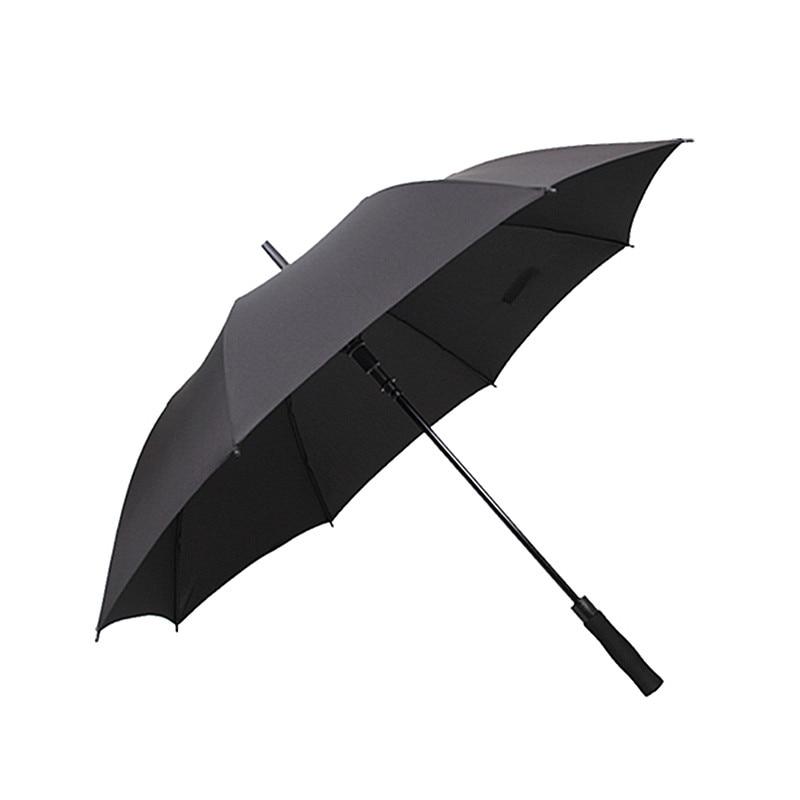 Big Size long umbrella Business Semi-automatic Large strongs windproof Golf umbrella folding outdoor umbrella men