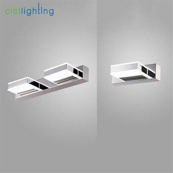 Moderne L16cm 35cm 50cm 68cm Lange LED Spiegel Licht Moderne Kosmetische Acryl Wand Lampe Badezimmer Beleuchtung Wasserdicht Eitelkeit Lampe