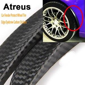 Atreus 25 см для VW polo passat b5 b6 Mazda 3 6 cx-5 Toyota corolla Ford автомобильное крыло Колеса Шины края брови углеродного волокна наклейки