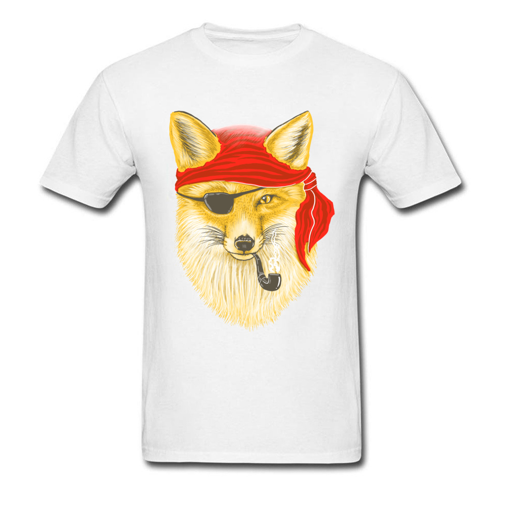 5f320e3068a30 2018 Fashion Foxy Pirate Custom Short Sleeve Tshirts Father Day Crew Neck  Pure Cotton Tees for