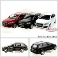 Candice guo! Yufeng Super cool 1:32 mini Audi Q7 SUV de aleación modelo de coche regalo de cumpleaños del juguete 1 unid