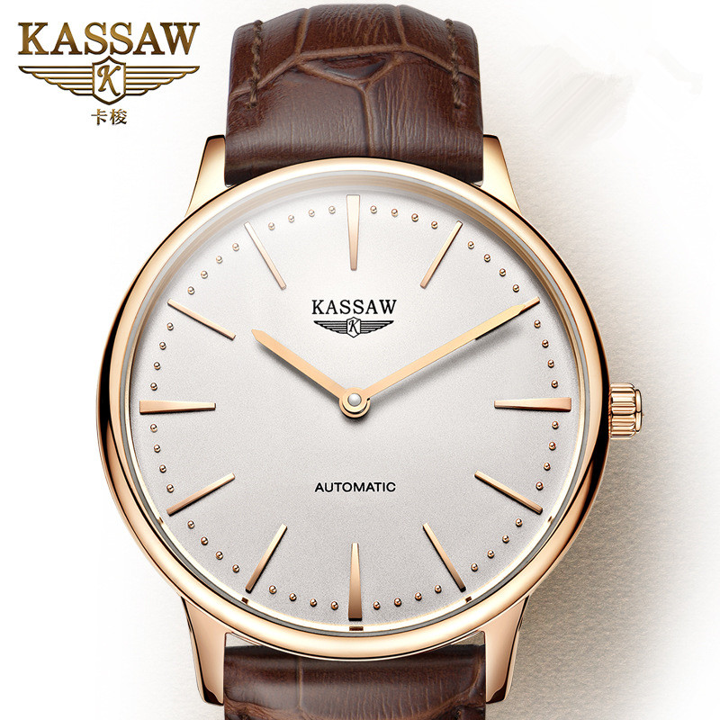 Men Watch KASSAW Top Brand Luxury Mens Automatic Mechanical Wristwatches Male Sapphire Military Watches Relogio MasculinoMen Watch KASSAW Top Brand Luxury Mens Automatic Mechanical Wristwatches Male Sapphire Military Watches Relogio Masculino