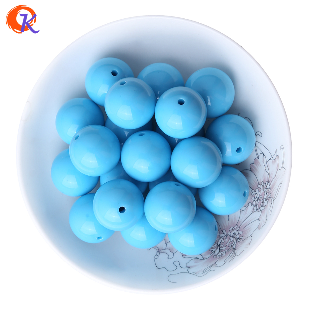 Useful S71 20mm 100pcs New Winter Color Pale Dark Blue Kids Play Fun Bubblegum Acrylic Solid Beads For Jewelry Cdwb-701177 Back To Search Resultsjewelry & Accessories