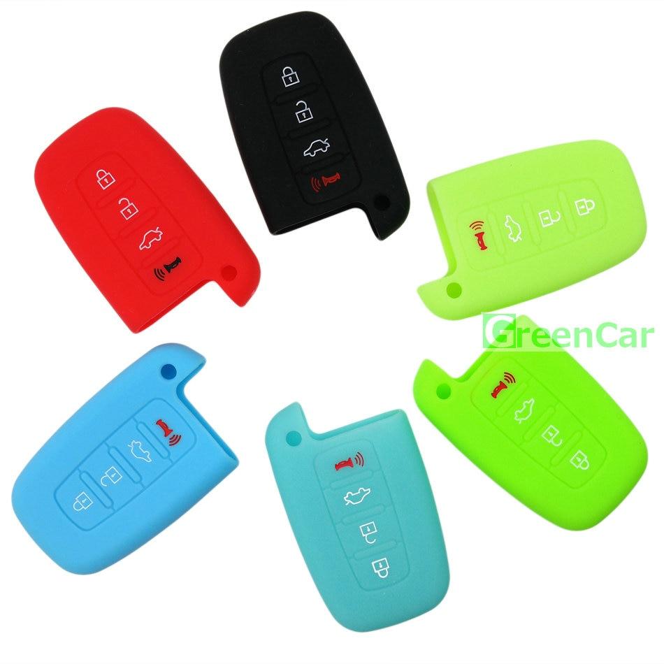 1 pz 4 pulsanti copertura della cassa chiave dell'automobile del - Accessori per auto interni