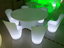 New design Remote control Wireless charging emitting led Dining chair waterproof changing color for bar/ktv/indoor stool
