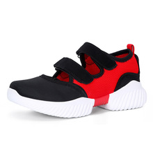 Outdoor Sneakers Women summer Casual Flat Walking Shoes New Fashion Lightweight Breathable sport sandals Shoes JINBEILE crocodile summer women height beach sneakers outdoor soft walking shoes women leisure sandals femme light cushion sport shoes