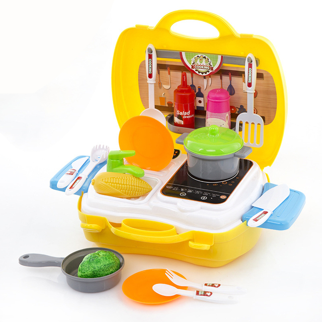 diy pretend play toy cashier register with real calculator kitchen