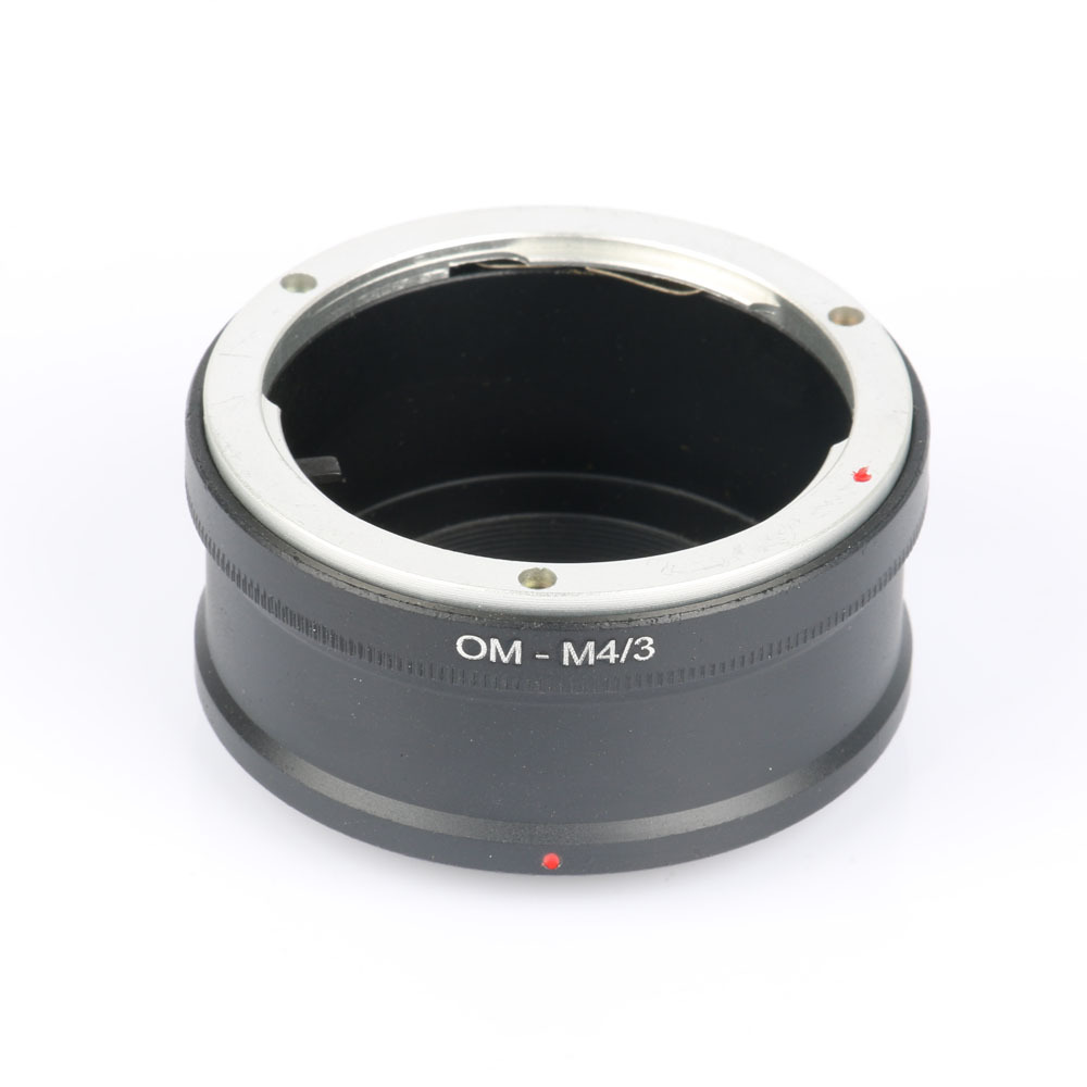 OM-M4/3 Adapter Ring Olympu s OM Lens to MICRO 4/3 M43 Camera Body for Oly mpus OM-D E-M5 E-PM2 E-PL5 GX1 GX7 GF5 G5 G3