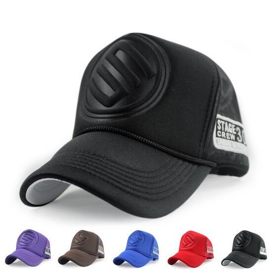 Prix pour Punk style camion cap réglable chapeau snapback sports de plein air solide gorras hip hop hommes femmes casquette de baseball livraison gratuite