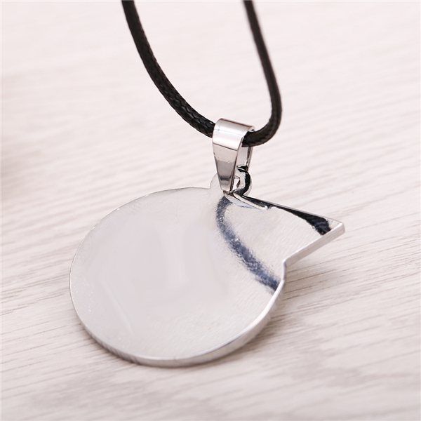 Hot Anime Soul Eater Metal Necklace Soul Logo Pendant Cosplay Accessories Jewelry