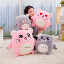 купить New Style Cartoon Cute Small Mouse Plush Toys Stuffed Animal Doll Toy Soft Plush Pillow Baby Toys Children Gift по цене 834.98 рублей
