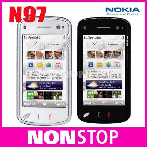 Unlocked Original Nokia N97 Internal 32GB mobile phone GSM GPS WIFI 5MP