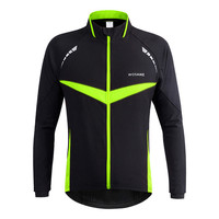 WOSAWE Men Windproof Warm Cycling Clothes Outdoor Sport Running Jacket Winter Bike Bicycle Cycling Jersey 5 Sizes