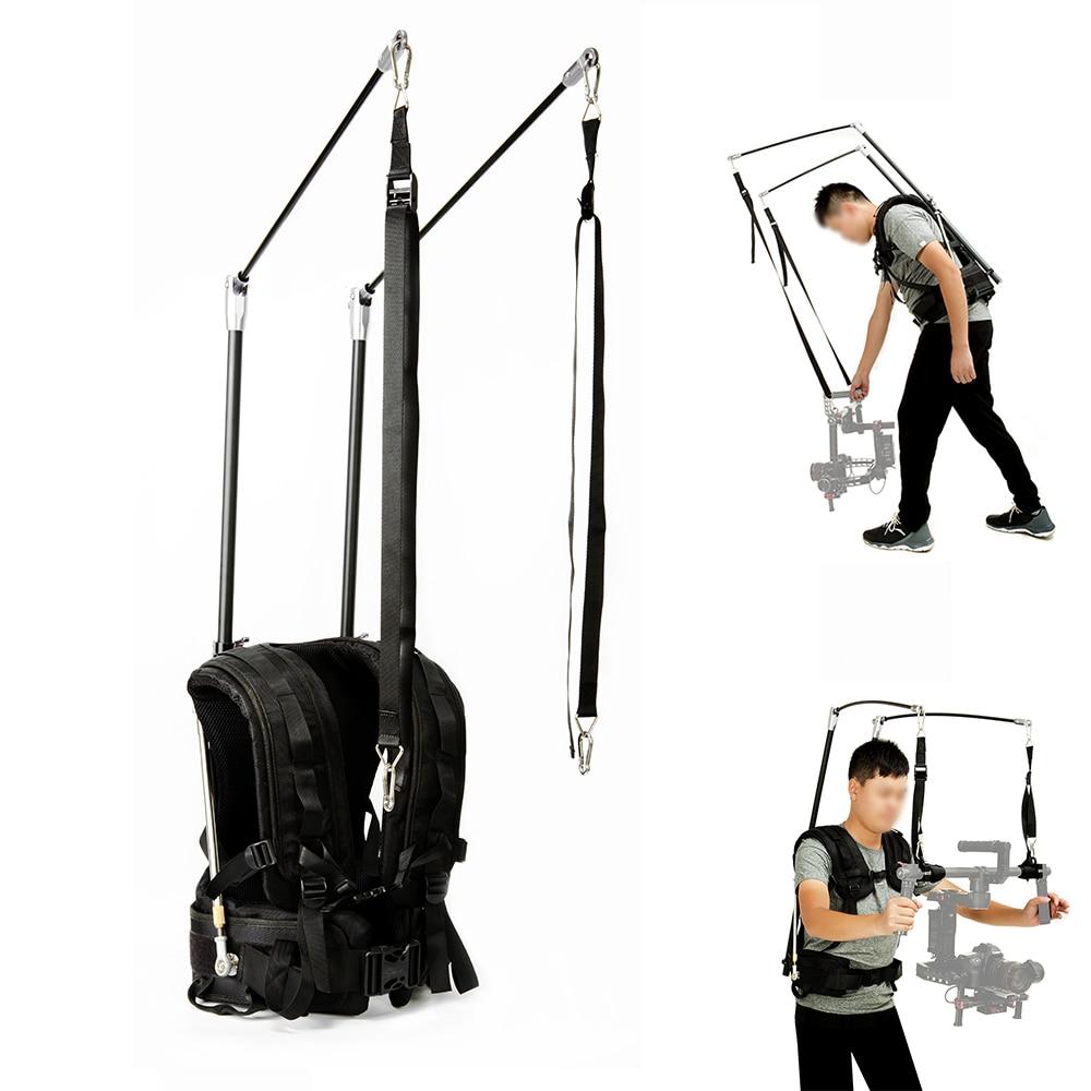 LAING V10 Vest 2-8Kg/6-13Kg Weight Bear as EASYRIG/READYRIG Video Film DSLR DJI Ronin M 3 Axis Gimbal Stabilizer Steadicam Vest цена