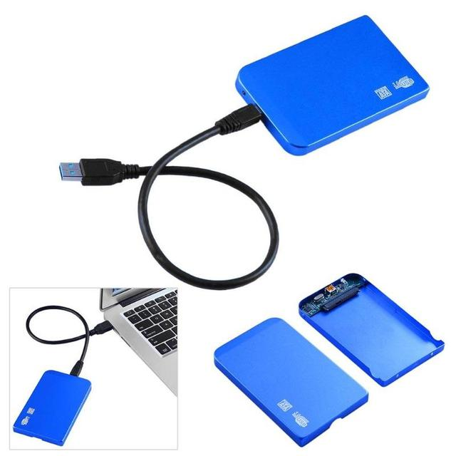 Ultra Thin HDD Case SATA to USB 3.0 SSD Adapter Hard Drive Case External HDD Enclosure for 2.5 inch HDD SSD hard disk 3