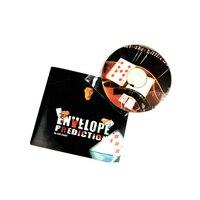 Envelope Prediction Gimmick DVD Magic Tricks Mentalism Magic Mind Trick Stage Close Up Accessories Comedy 81175