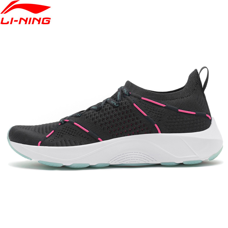 Li-Ning 2018 Women LN CLOUD LITE Cushion Running Shoes PROBAR LOC Support Li Ning Sports Shoes Breathable Sneakers ARHN124