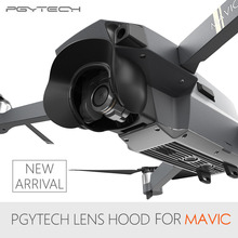 PGYTECH Lens Camera Protector Sun Shade Glare Shield Gimbal Shade Camera Mavic Pro Lens Hood Anti