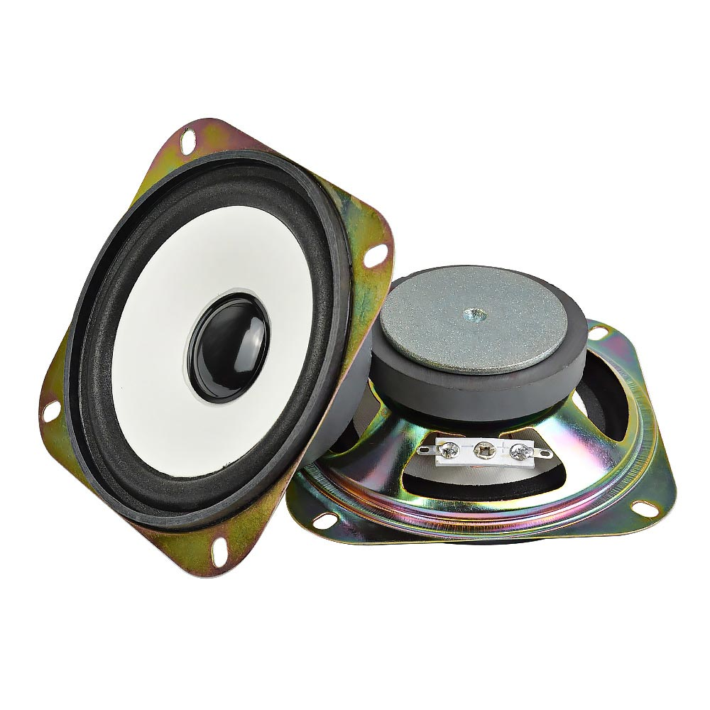 AIYIMA 2Pcs 4Inch Audio Bass Speaker Loudspeaker Woofer DIY For Stereo Bluetooth Speaker <font><b>2Ohm</b></font> 5W Home Theater Sound System image