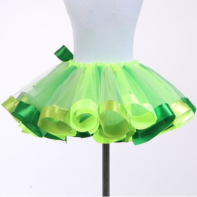 Girls Fashion Tutu Skirt Tulle Children Kids Skirts Baby Tutus Pettiskirt  Party Ballet Dancing Skirts Princess Short Mini Skirt