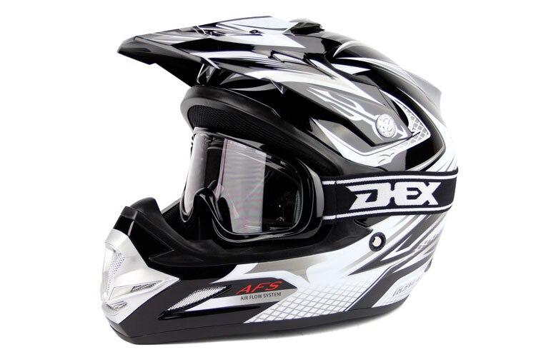 Dirt Bike Helmet With Visor >> Off Road Dirt Bike Motocross Atv Motorcycle Helmet Dot With Visor