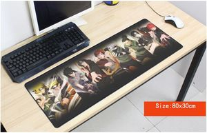 Image 1 - Naruto mouse pad anime pad to mouse notbook computer mousepad High quality gaming padmouse gamer to laptop 80x30cm mouse mats