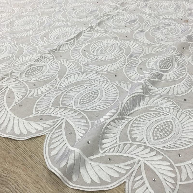 ᐊAlta calidad suiza africana del cordón 059 blanco, envío libre (5 ...