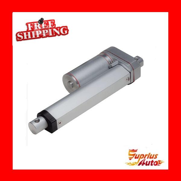 все цены на Free shipping 12V, 175mm / 7 inch travel linear actuator, 1000N / 100KG / 225LBS load electric linear actuator онлайн