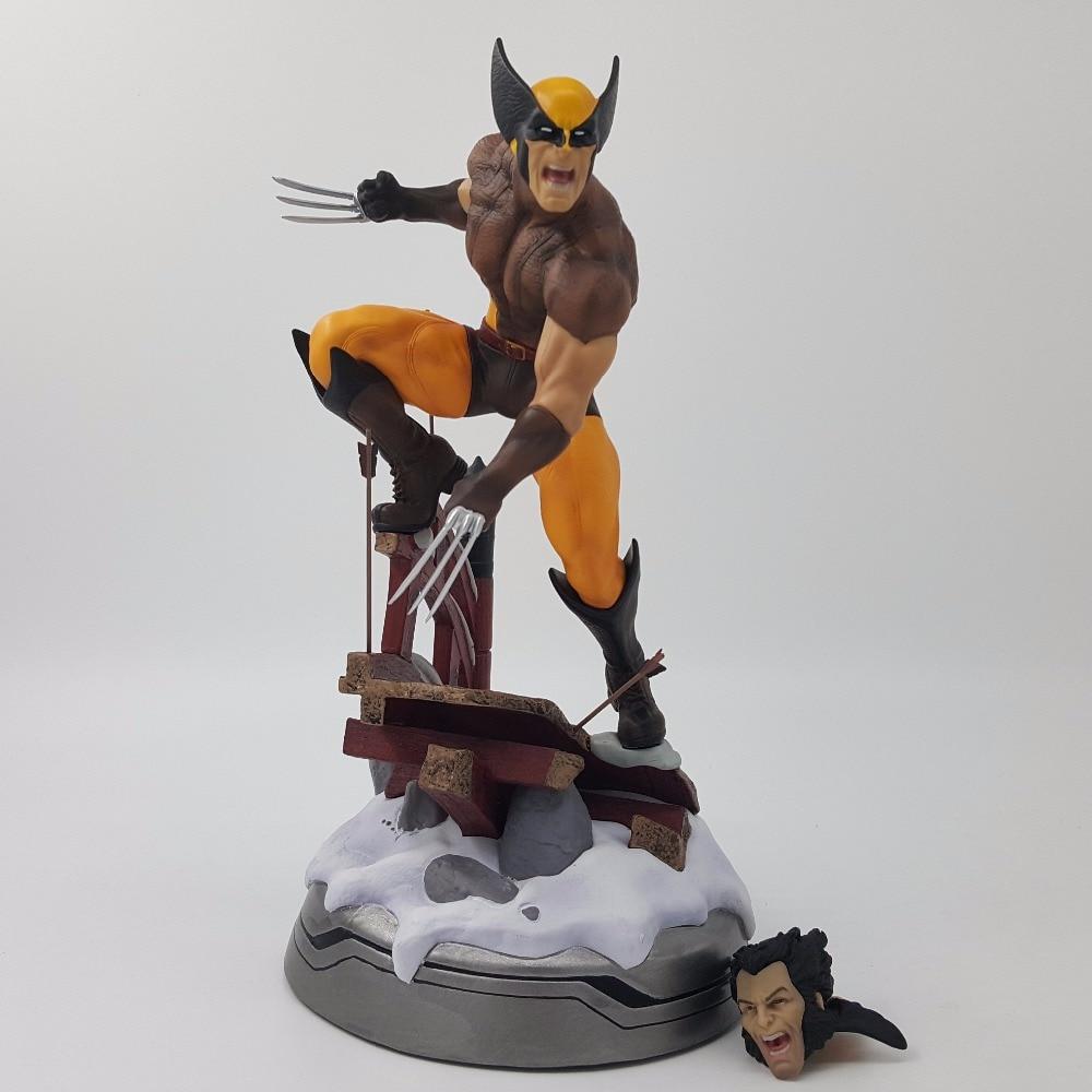 Wolverine Action Figure 1/6 scale LOGAN X-Men PVC Figure Toy Premium Format Costume Ver Wolverine X men PVC Collectible Model new hot christmas gift 21inch 52cm bearbrick be rbrick fashion toy pvc action figure collectible model toy decoration