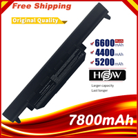 7800mAh 9 Cells X55a Laptop Battery For ASUS A32 K55 A33 K55 A75DE TY026V A75DE TY043V A75VM TY085V K75A K75D K75V K75VM TY126V
