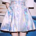 Adolescente Niñas Mujeres Biling Bling tutu Faldas De Holograma Láser Holograma harajuku Sinfonía Falda de Una forma Bobbia G860