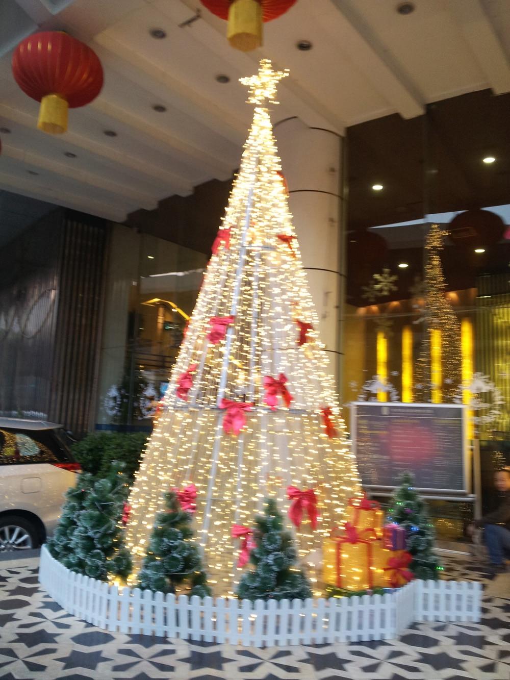 3 metros llevó la iluminación, controlador de árbol de navidad