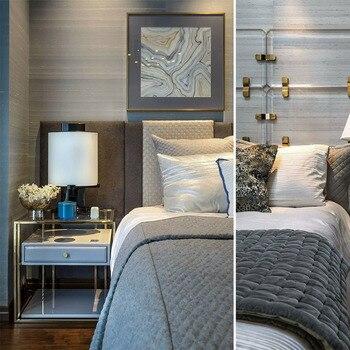 Papel tapiz para habitación de pedrería de seda elegante de estilo moderno pintado a mano muchas artes/Fondo opcional