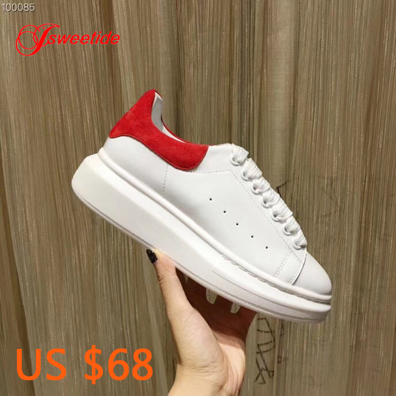 Whoes Woman Flat Platform Designer Flat For Women New Style Fashion High Quality Genuine Leather Casual
