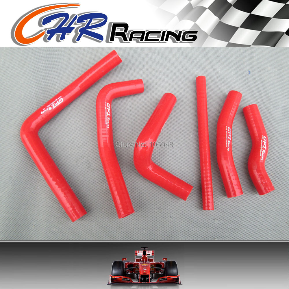 Black silicone radiator hose for Honda CR250R CR 250 R 2-stroke 2000 2001 00 01