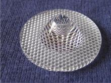 #HOS-35-60 High quality LED Optical Lens 1P 35mm Diameter 60 Degree PMMA materials Bead Surface cheap Jarmay Aspheric Plano-convex Plastic Transparent Guangdong China (Mainland)