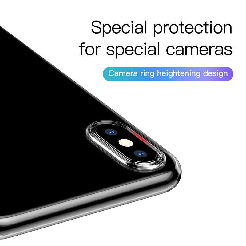 Baseus Ultra Thin Transparent Case For iPhone 11 Pro Max Case Luxury Soft Silicone Back Cover For iPhone 11 Pro X Xs Max XR Case 4