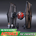 2016 new Star Wars series The First Order Special Forces TIE fighter model Building Blocks Classic Toys compatible  75101