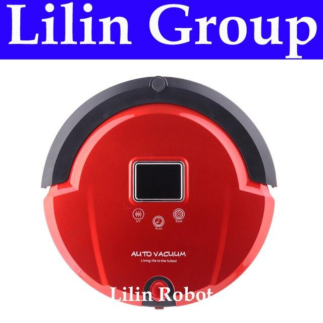 4 trong 1 Đa Chức Năng Robot Hút Bụi (Sweep, Hút Chân Không, Lau, Khử Trùng), MÀN HÌNH LCD, nút cảm ứng, Lịch Làm Việc, Virtual Blocker, AutoCharge