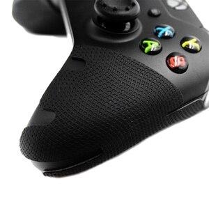 Image 5 - コントローラーグリップジョイスティックケースイカハンドグリップアンチスキッドステッカー抗汗カバースマート Xbox One コントローラプロテクター