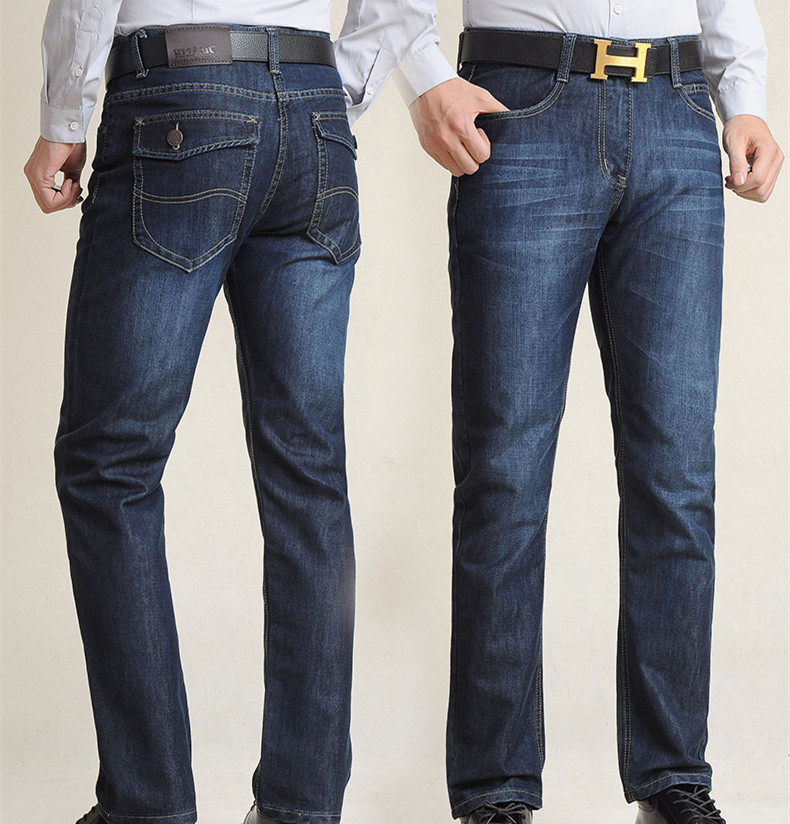 Free shipping Spring and summer jeans male plus size loose straight long trousers fat extra large casual pants size 28-48 free shipping autumn and winter male straight plus size trousers loose thick pants extra large men s jeans for weight 160kg