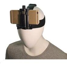 Голова держатель на ремешке для смартфонов на жгут ремень крепление Открытый Спортивная тренога Клип держатель GOPRO камера iPhone 6 7 8 x xs