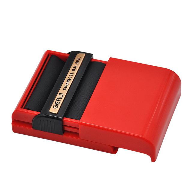 Plastic Material 84*92*29mm Automatic Cigarette Tobacco Roller Rolling Machine Box Case For 70mm Papers