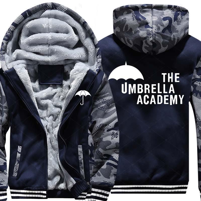 Free Shipping New USA Size Men Hoody The Umbrella Academy Zipper Thicken Fleece Hoodies Coat Clothing Costom Made Jacket
