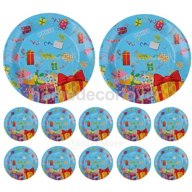 10 Pieces 7 Inch Round Gift Boxes Paper PLATES Baby Shower Kids Boy Girl Birthday Party  sc 1 st  AliExpress.com & 10 Pieces 7 Inch Round Gift Boxes Paper PLATES Baby Shower Kids Boy ...
