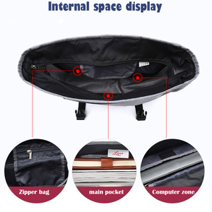 Image 4 - TUGUAN Men Messenger Bags Mens Fashion Business Travel Shoulder Bags female Canvas Briefcase Men Crossbody Bag Handbag XB1701T
